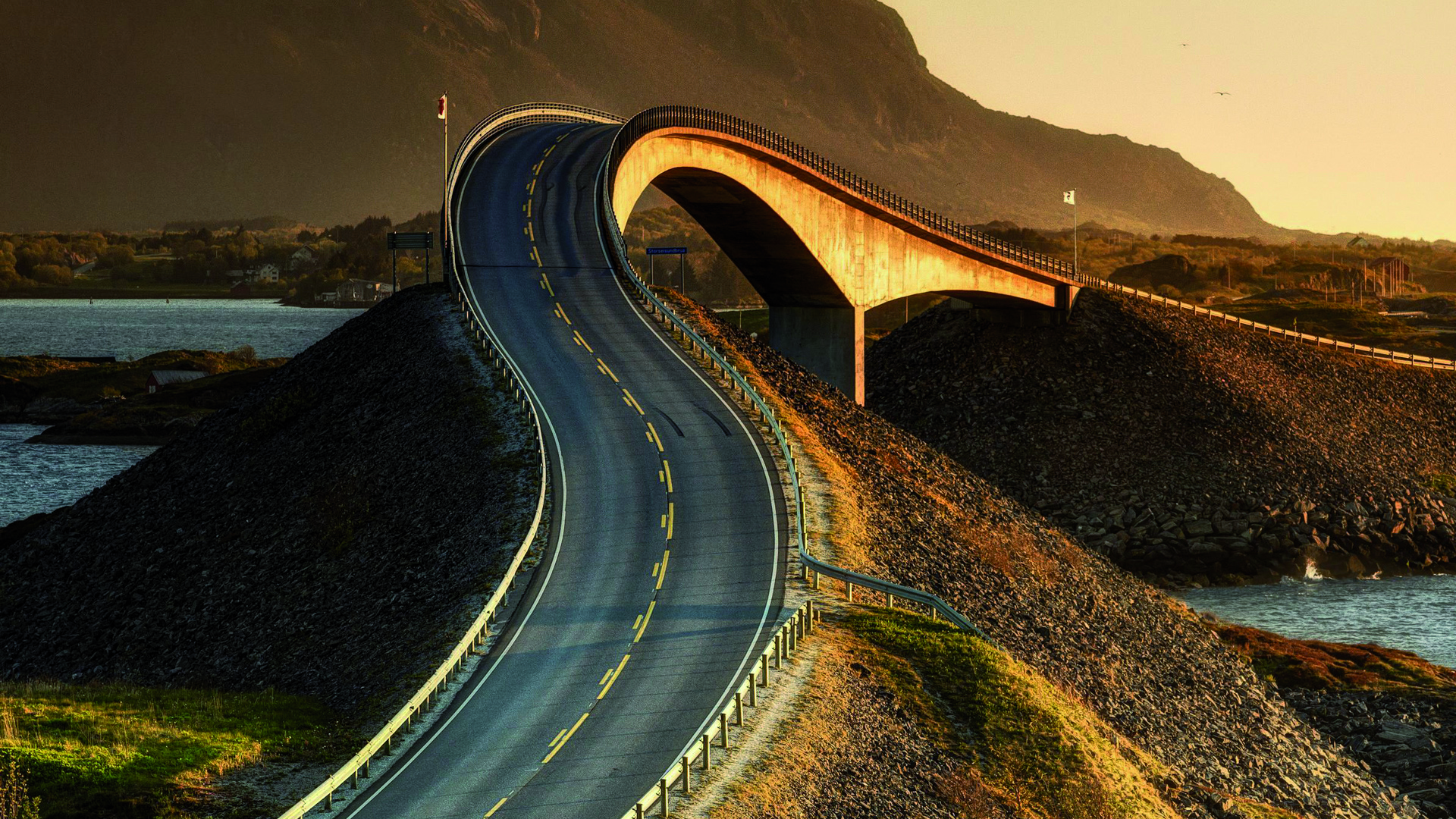 Atlantic road - Noruega - Flickr - Autor Ky0n Cheng