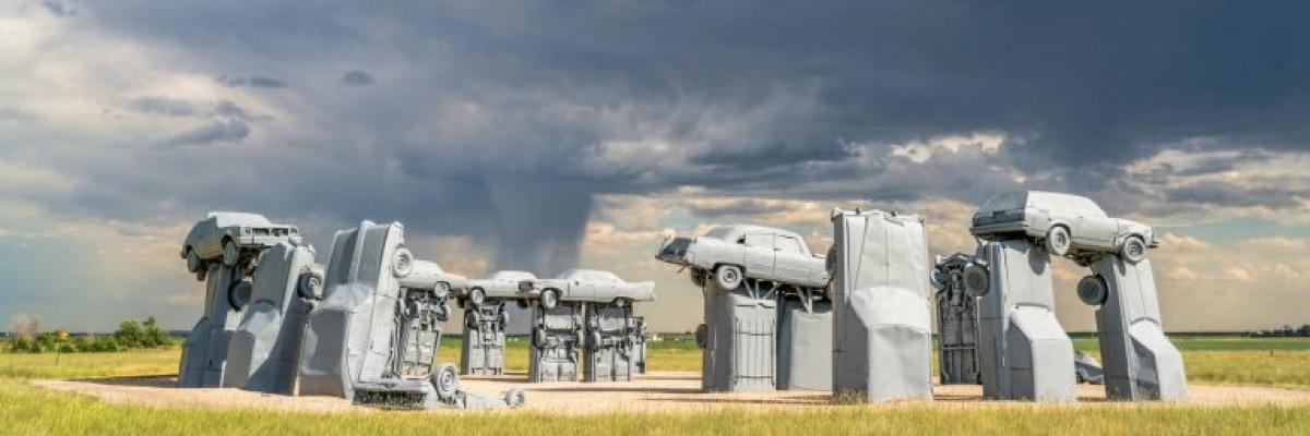Land Art en la carretera: Cuando la naturaleza se convierte en cuadro