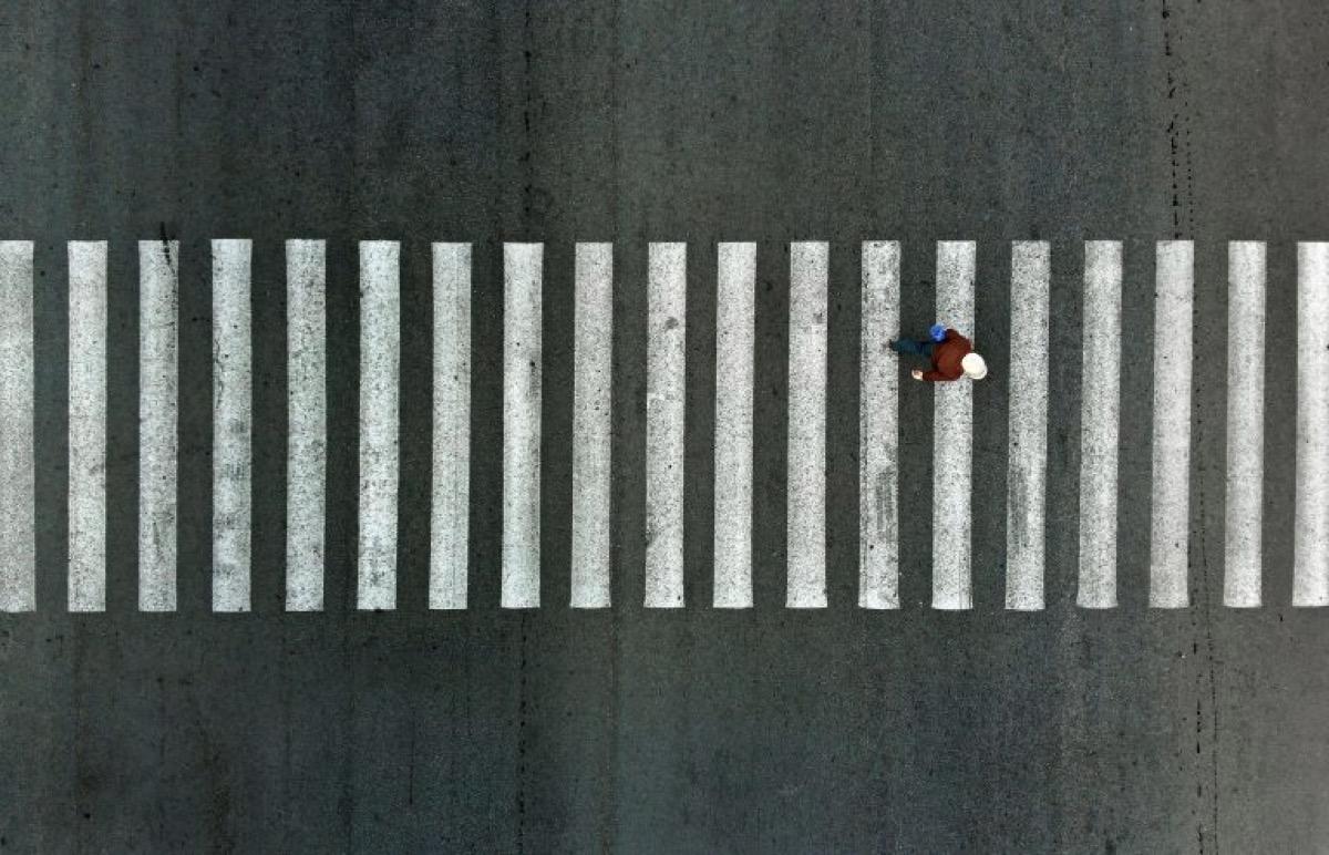 Pedestrian crossings that 'fool' drivers
