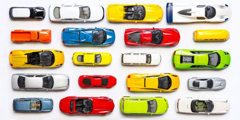 Color is the most relevant factor when buying a car