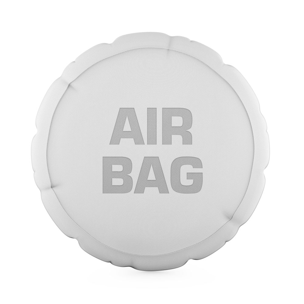 The airbag can also save the life of motorcyclists