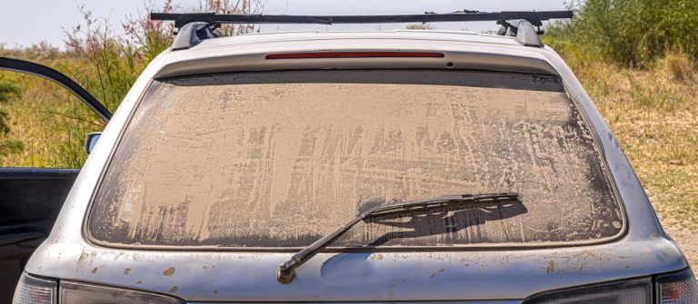 Your dirty car is a canvas for this artist